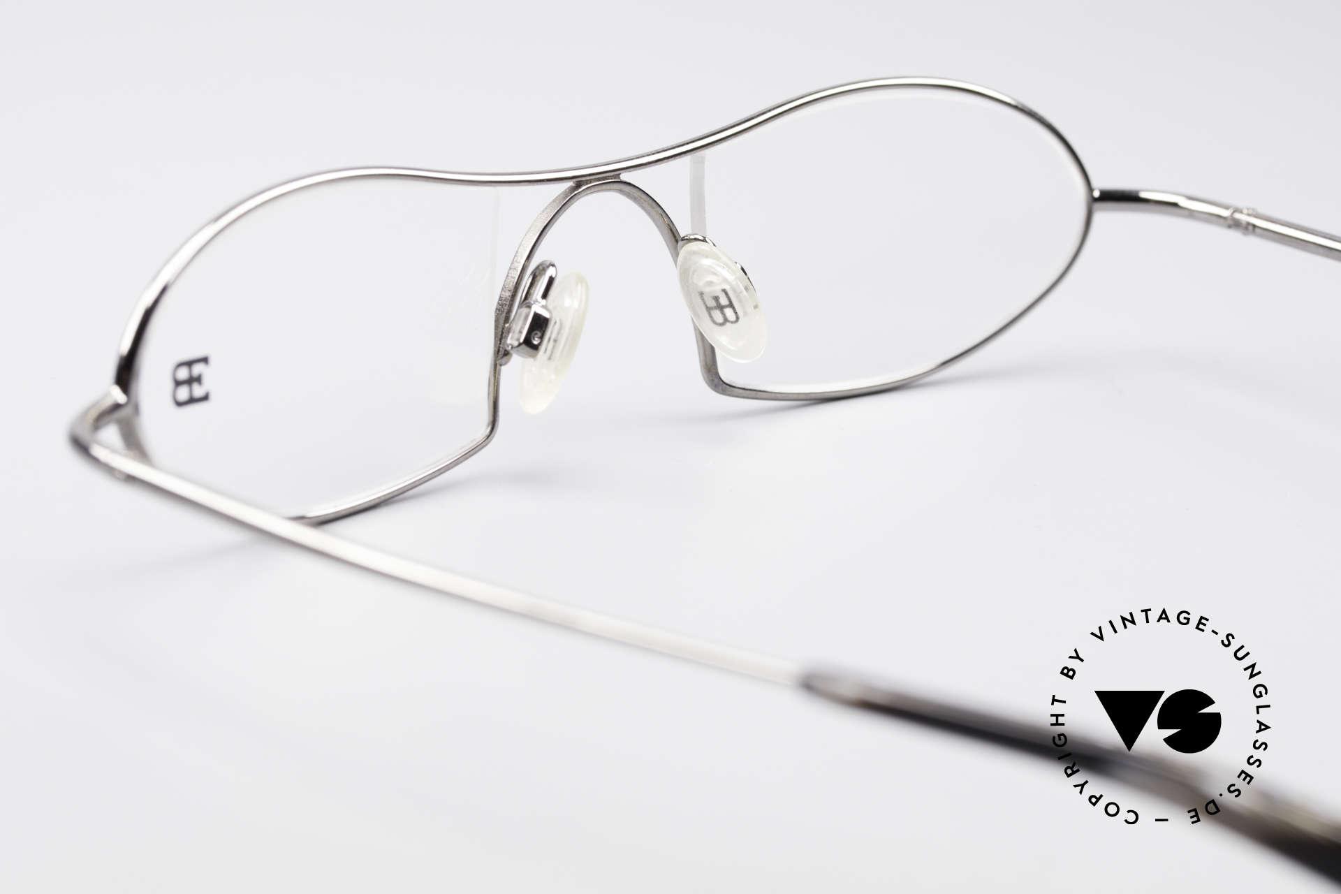 Bugatti 351 Odotype Rare Herren Designer Brille, Modell als Brille oder Sonnenbrille verglasbar, Passend für Herren