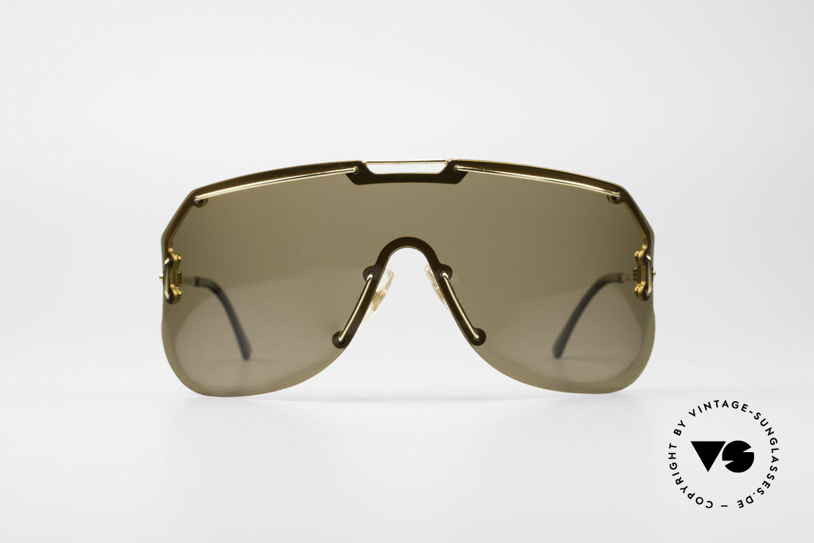 Boeing 5703 80er Luxus Sport Sonnenbrille, unglaublich seltenes Modell der 80er BOEING-Serie, Passend für Herren
