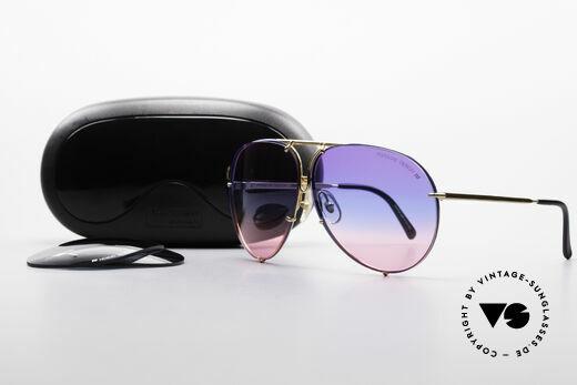 Porsche 5623 Tricolor Special Edition Brille, ungetragenes Einzelstück + original Porsche Verpackung, Passend für Herren und Damen
