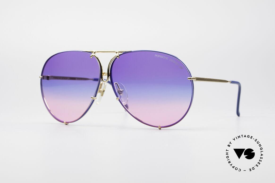 Porsche 5623 Tricolor Special Edition Brille, PORSCHE DESIGN by CARRERA Sonnenbrille von 1987, Passend für Herren und Damen