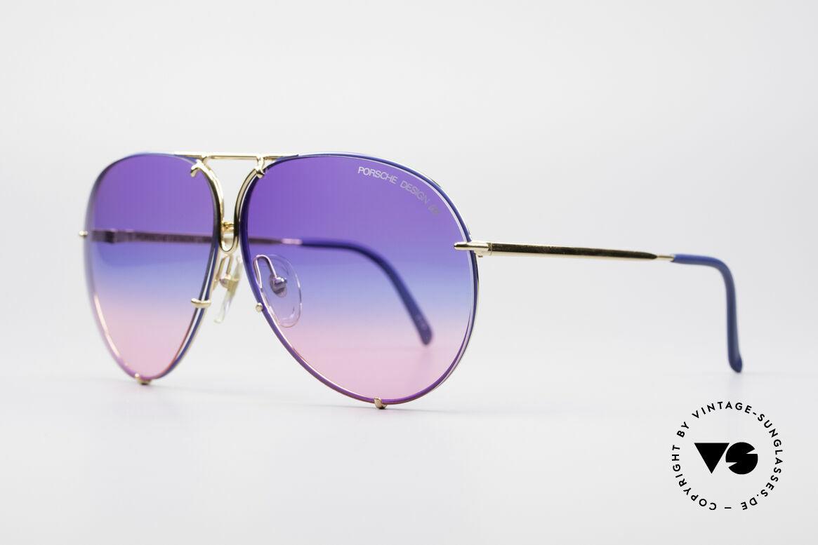 Porsche 5623 Tricolor Special Edition Brille, eines der meistgesuchten VINTAGE Modelle; weltweit!, Passend für Herren und Damen