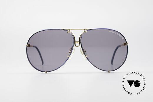 Porsche 5623 Tricolor Special Edition Brille, KEINE Retro Sonnenbrille; sondern ein 80er ORIGINAL, Passend für Herren und Damen