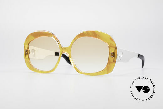 Pierre Cardin 734 70er XXL Sonnenbrille Details