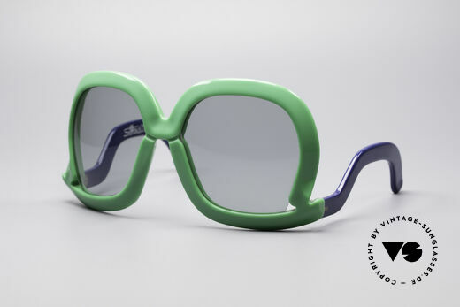 Silhouette Futura 564 70er Designer Sonnenbrille Details