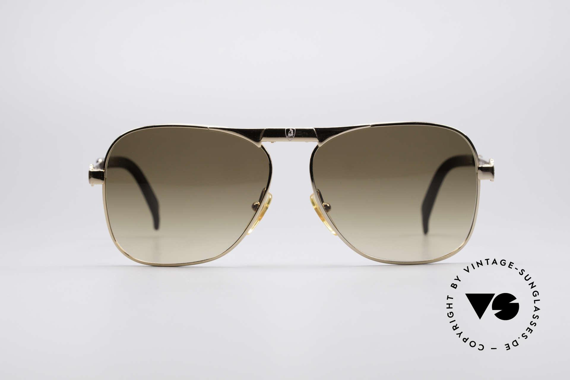Lamborghini LT50/P Faltbare 80er Sonnenbrille, der Lamborghini-Erbe ist bekannt für LUXUS-Accessoires, Passend für Herren