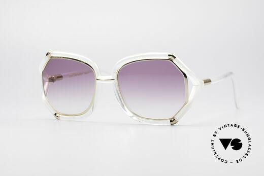 Ted Lapidus B08 70er Designer Sonnenbrille Details
