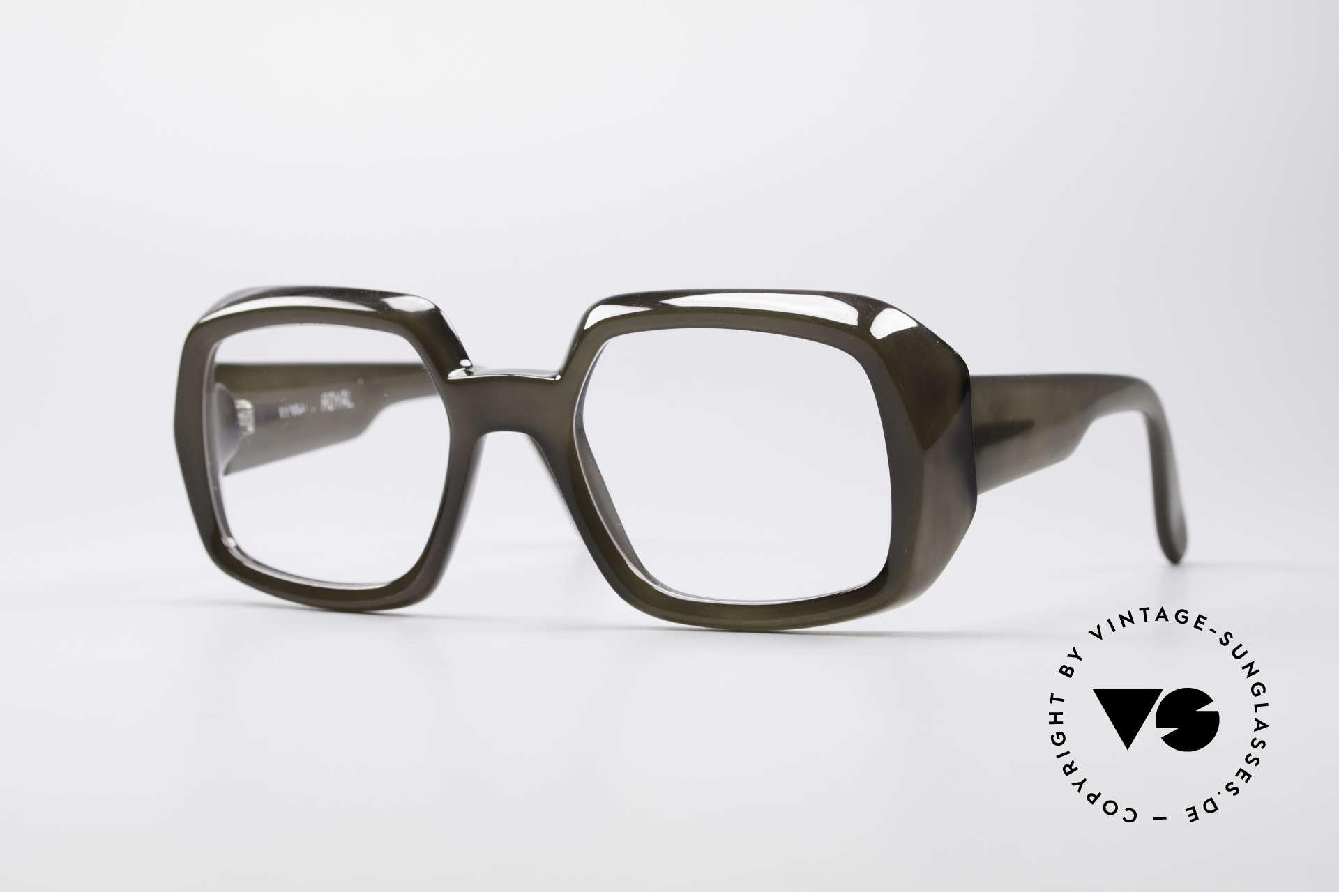 ViennaLine Royal 1601 Goliath Monsterbrille, unglaubliche VINTAGE Old School Brille von ViennaLine, Passend für Herren