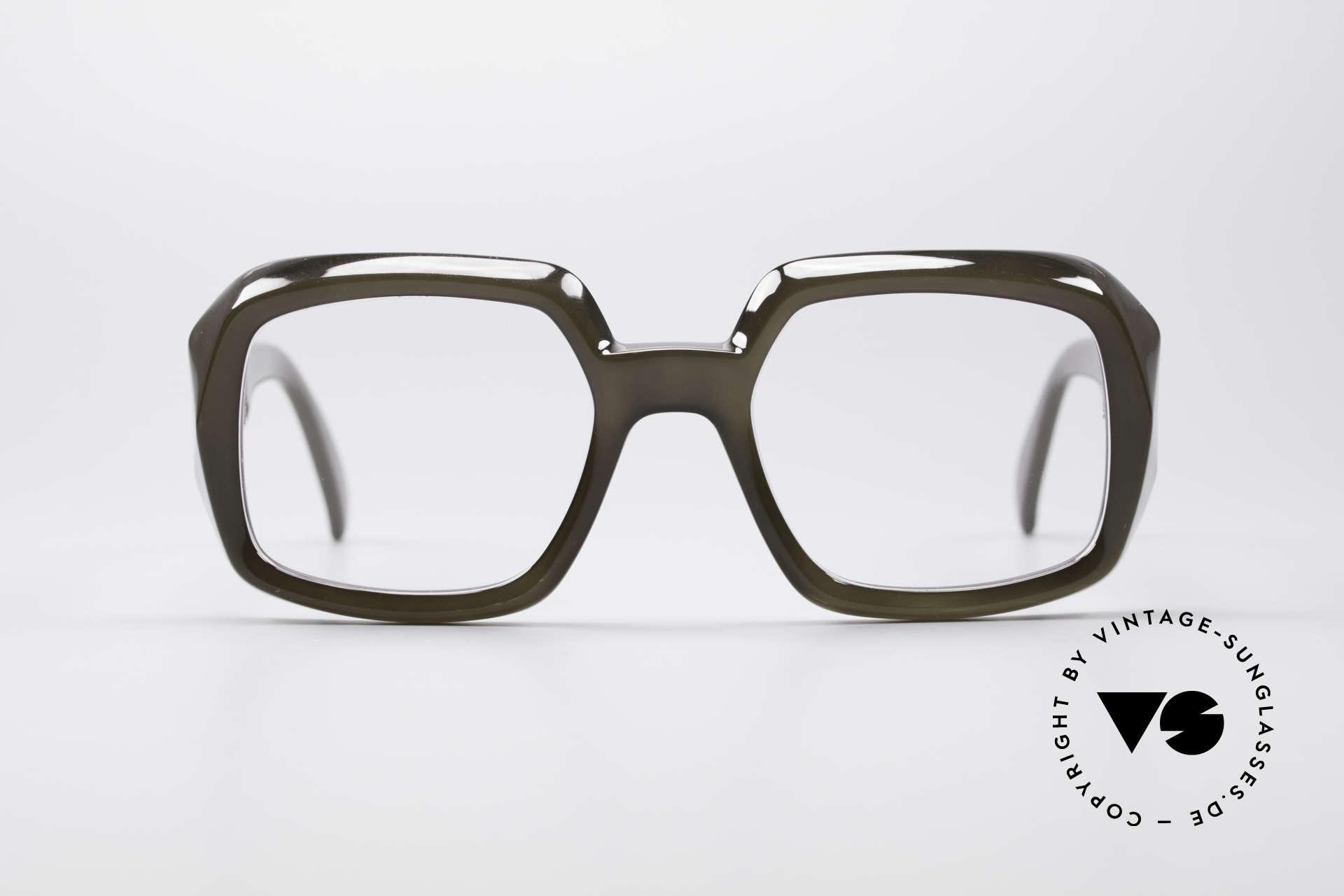 ViennaLine Royal 1601 Goliath Monsterbrille, eines der Top-Modelle der ROYAL-Serie; ein Monsterteil, Passend für Herren