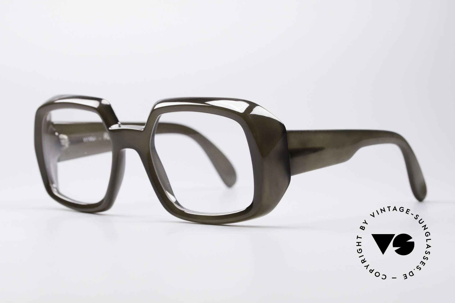 ViennaLine Royal 1601 Goliath Monsterbrille, stellenweise 10mm dickes Rahmenprofil; schier unfassbar, Passend für Herren