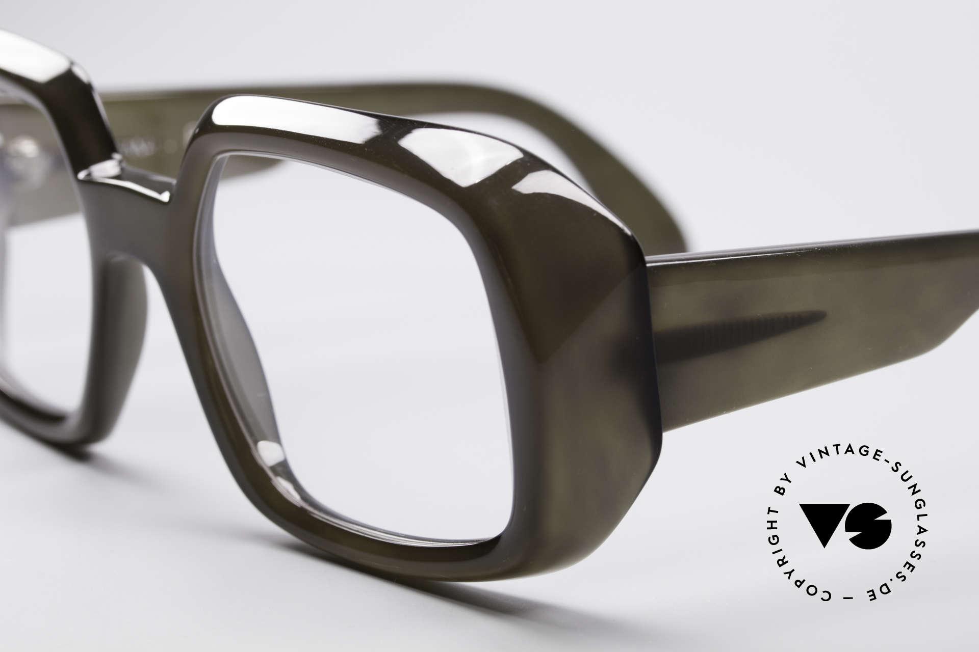 ViennaLine Royal 1601 Goliath Monsterbrille, in 1970er Jahren produziert und für die Ewigkeit gemacht, Passend für Herren