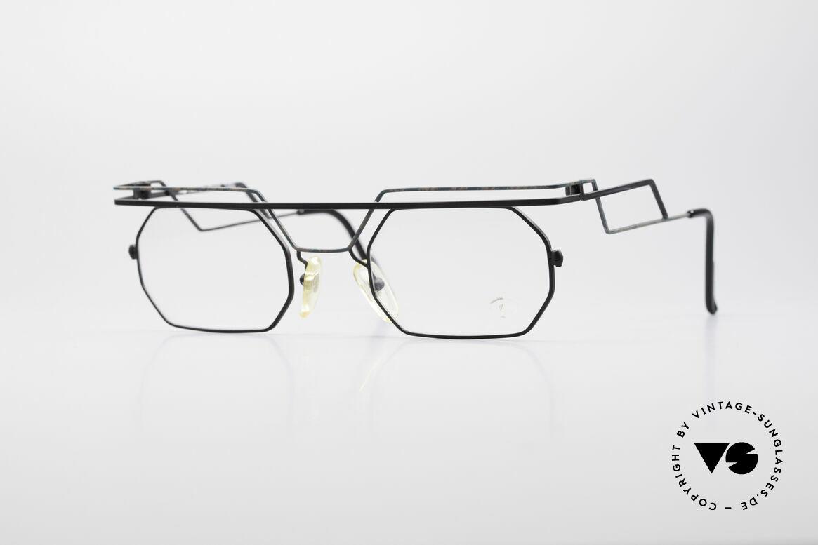 Serge Kirchhofer 1060 Futuristische 60er Brille, markante VINTAGE Brillenfassung von Serge Kirchhofer, Passend für Herren und Damen