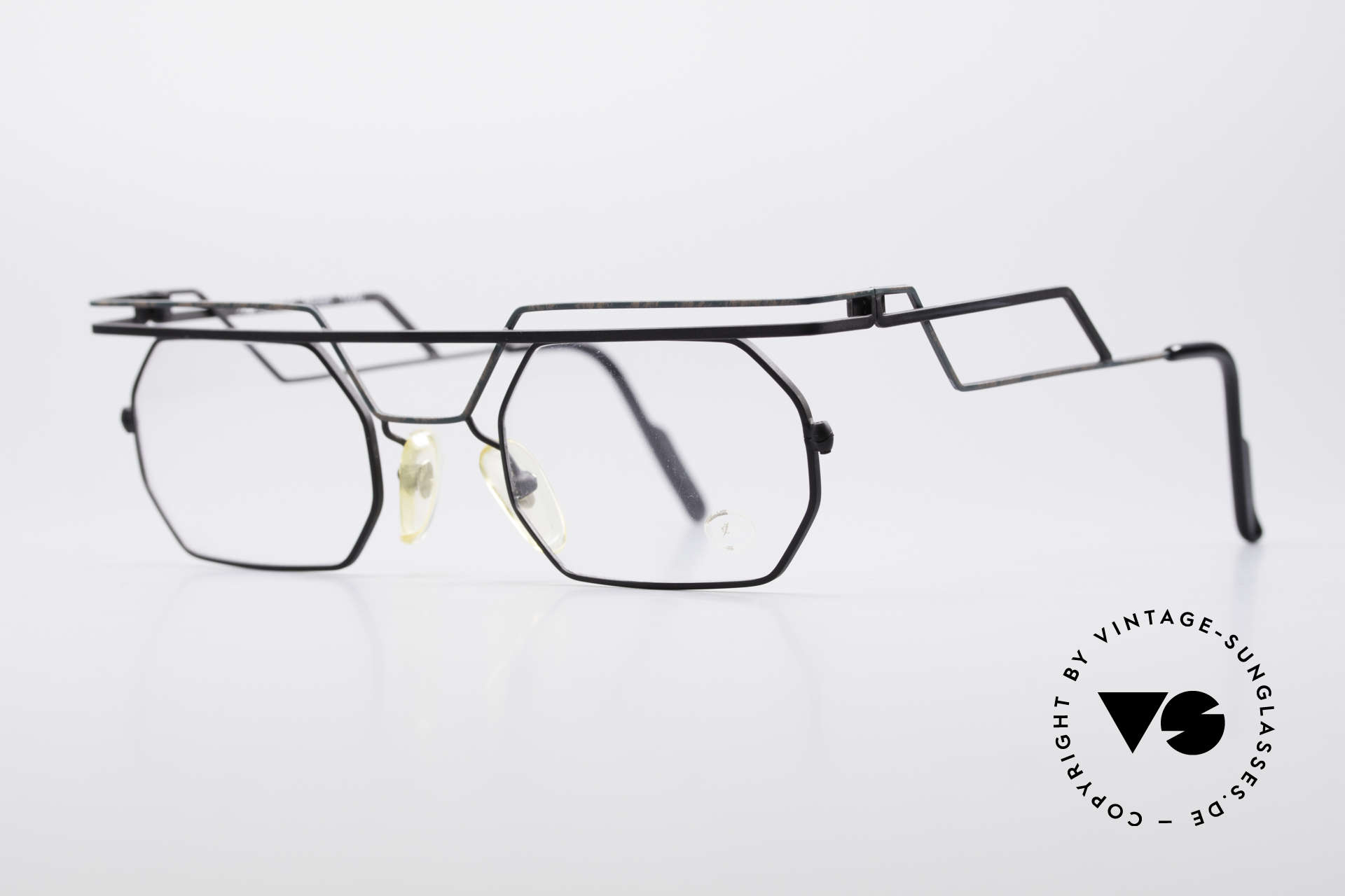 Serge Kirchhofer 1060 Futuristische 60er Brille, zu sehen in der ORF-Doku 'out of control' (Teil 2 von 6), Passend für Herren und Damen