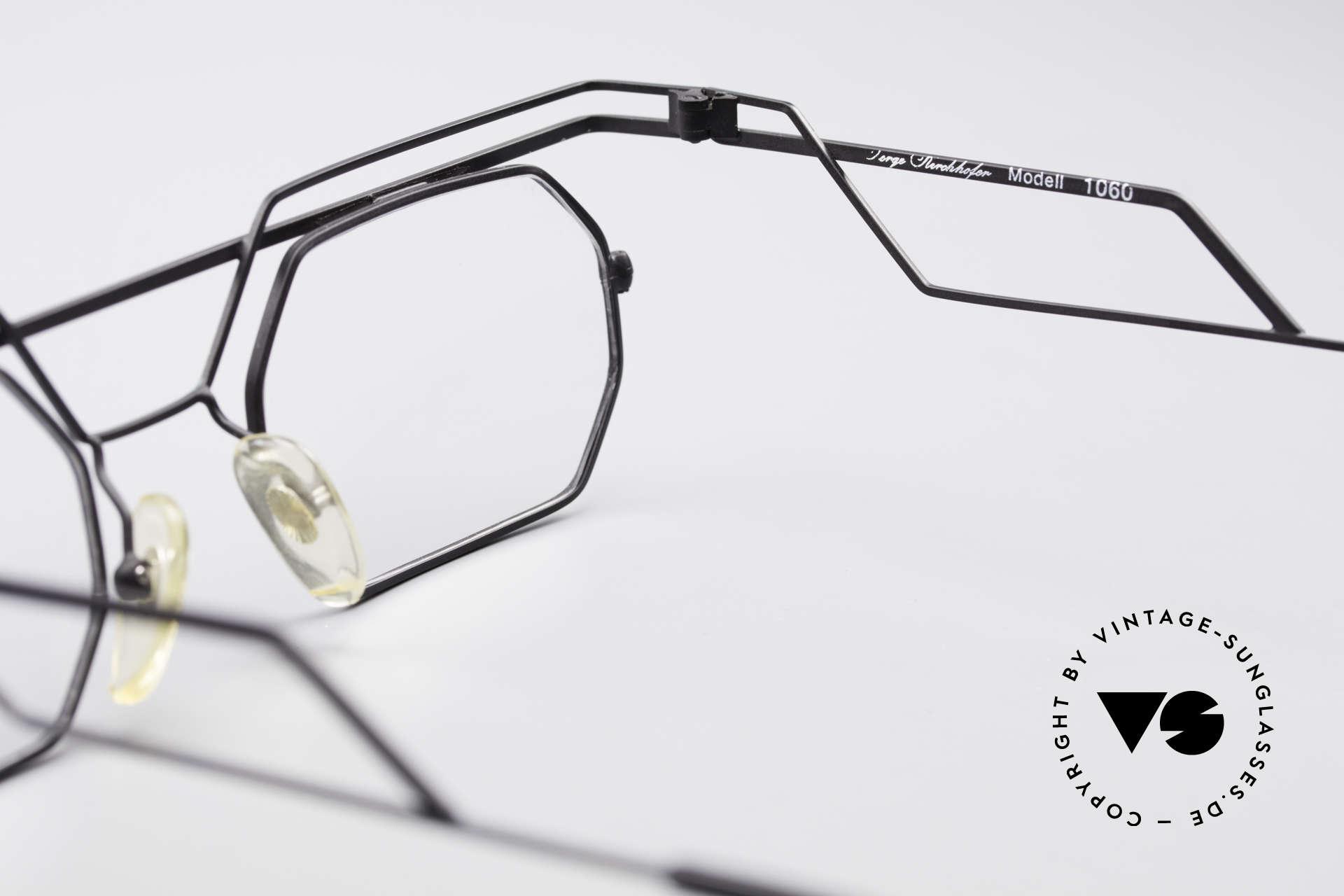 Serge Kirchhofer 1060 Futuristische 60er Brille, Größe: medium, Passend für Herren und Damen