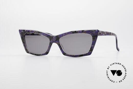 Alain Mikli 0142 / 397 80er Damen Sonnenbrille Details