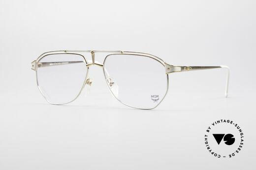 MCM München 6 XL Luxus Titan Brille Details