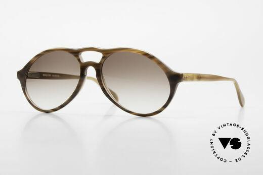 Bugatti 64852 Echt Büffelhorn Brille Vintage Details
