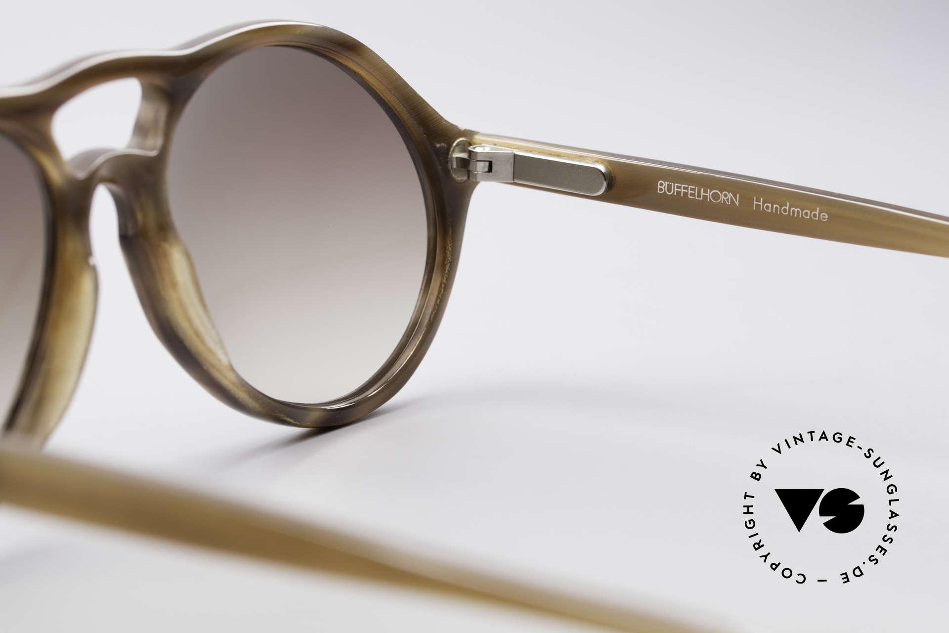 Bugatti 64852 Echt Büffelhorn Brille Vintage, wahres UNIKAT: heutzutage kaum noch zu bekommen !!!, Passend für Herren