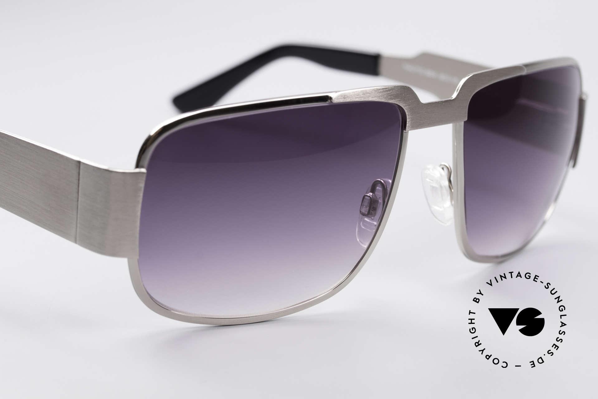 Neostyle Nautic 2 Elvis Presley Sonnenbrille, 54 Gramm schwer u. 145mm Rahmen-Breite = XXL-Größe!, Passend für Herren