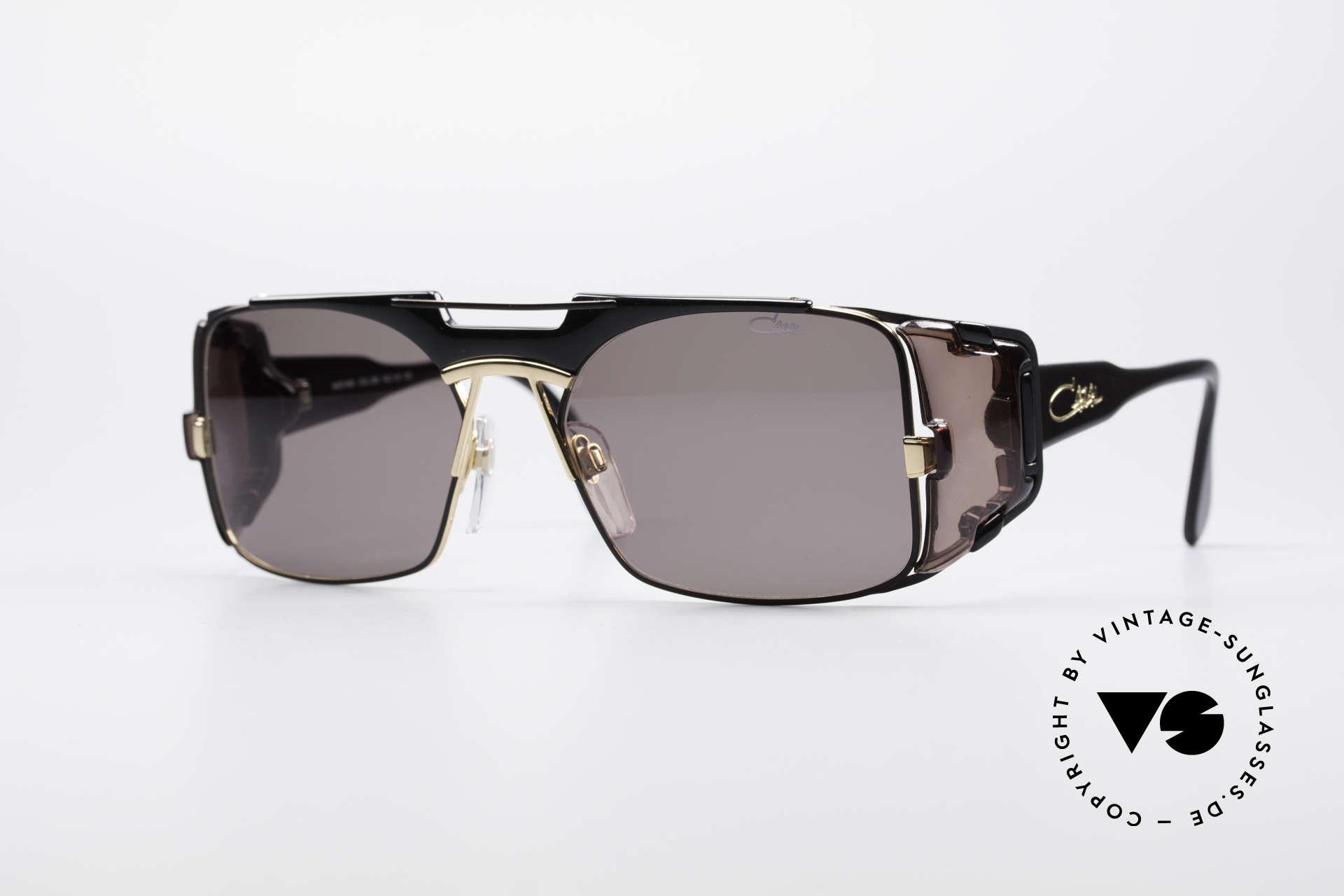 Cazal 963 Old School Hip Hop Brille, extravagante VINTAGE CAZAL Designer-Sonnenbrille, Passend für Herren und Damen