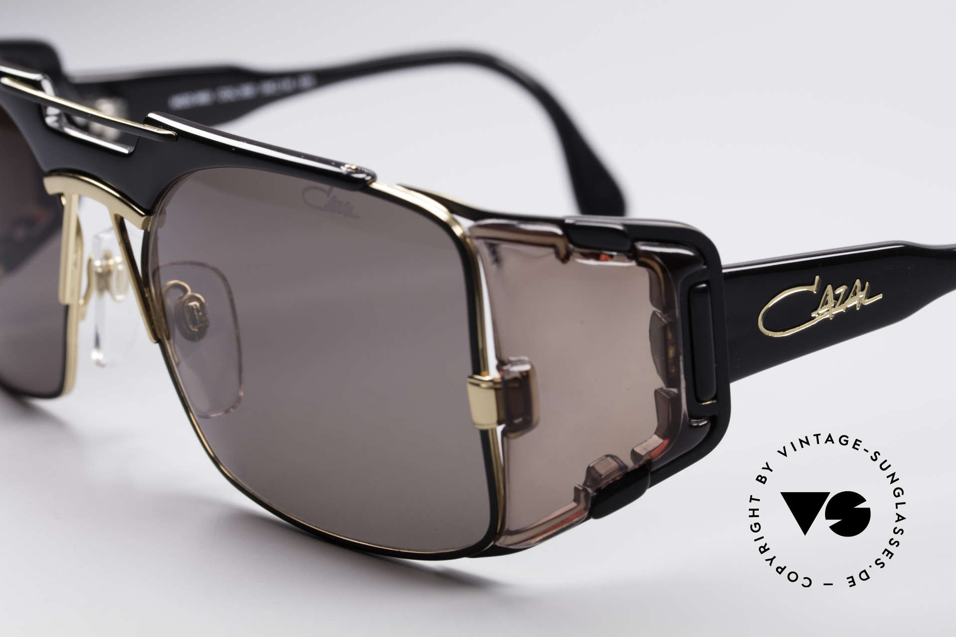 Cazal 963 Old School Hip Hop Brille, ungetragene Rarität inkl. Cazal Karton & Staubbeutel, Passend für Herren und Damen
