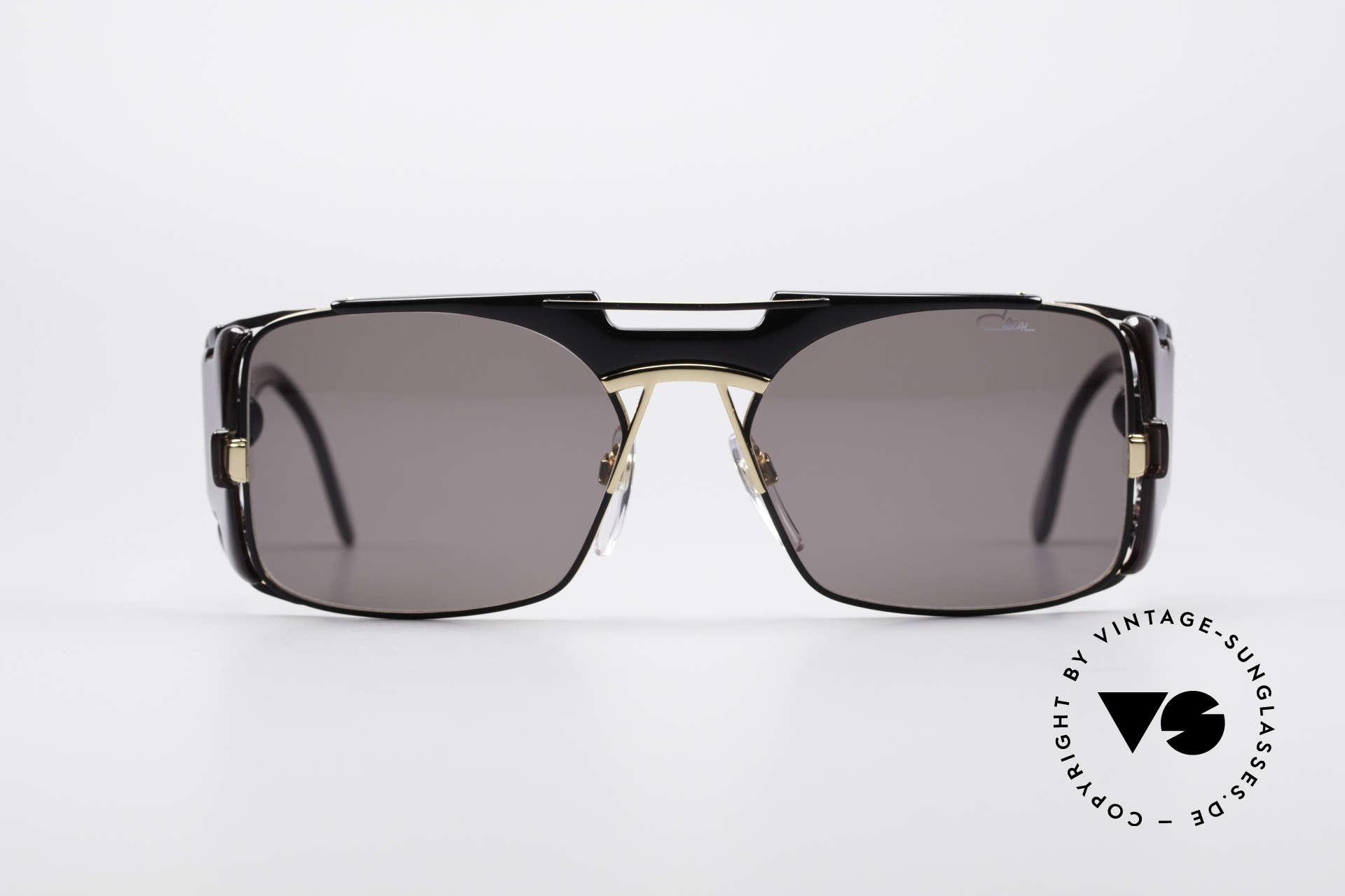 Cazal 963 Old School Hip Hop Brille, grandioses Seitenscheiben-Design von CAri ZALloni, Passend für Herren und Damen