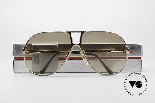 Boeing 5700 Berühmte 80er Piloten Brille, KEINE Retrobrille, sondern ein 30J. altes Original!, Passend für Herren und Damen