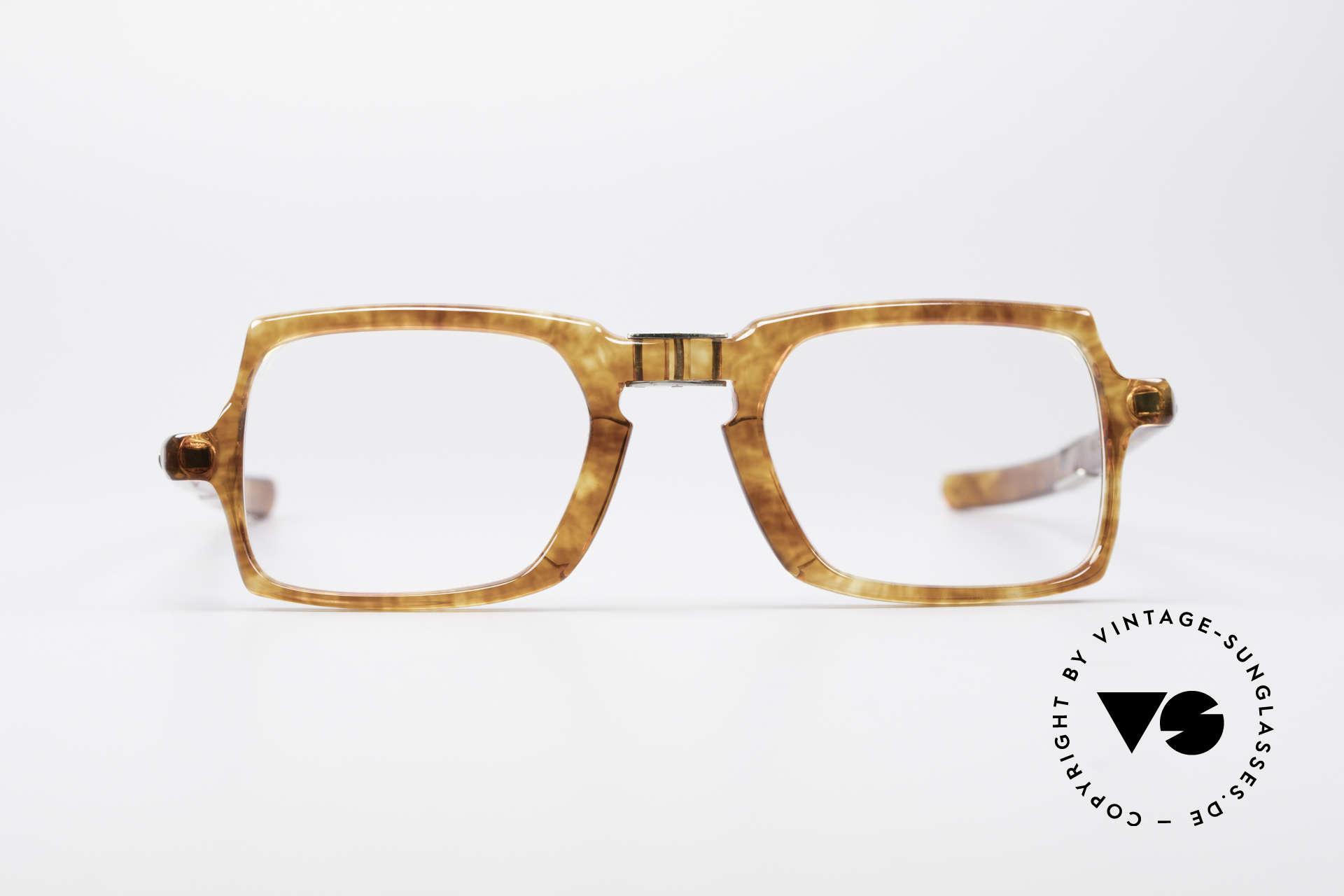 Meyro 618 70er Jahre Faltbrille, uraltes Modell aus den 1960ern / frühen 70ern, Passend für Herren