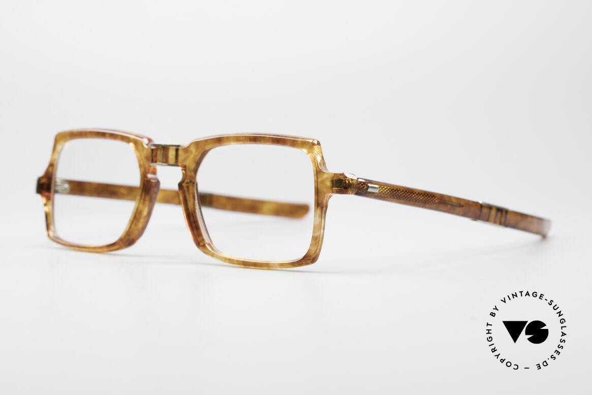 Meyro 618 70er Jahre Faltbrille, eine Brillen-Rarität und ein wahrer Hingucker, Passend für Herren