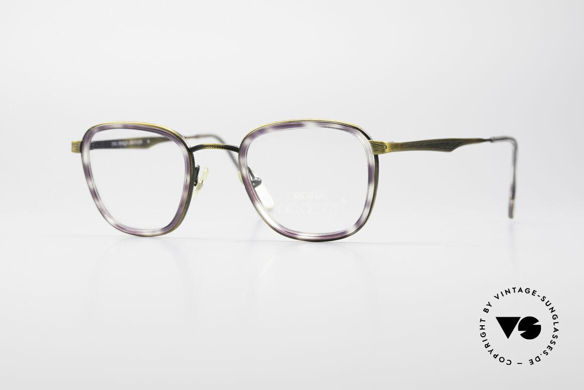 ProDesign Denmark Club 88A Vintage Brille, Pro-Design Optic Studio Denmark vintage Brille, Passend für Herren
