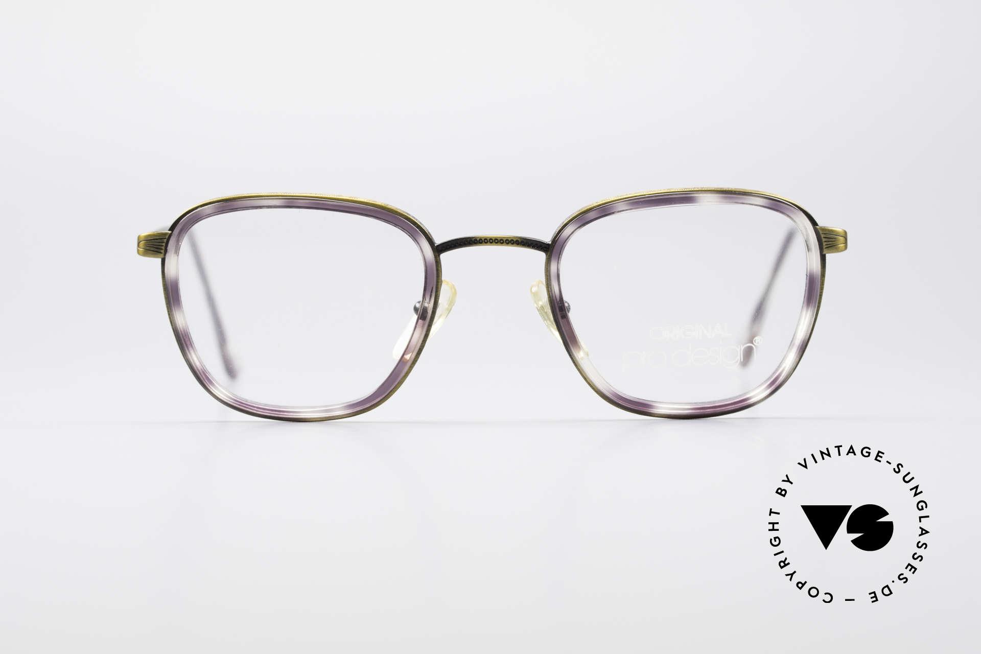 ProDesign Denmark Club 88A Vintage Brille, Panto-Design und Windsor-Ringe: ein Klassiker!, Passend für Herren