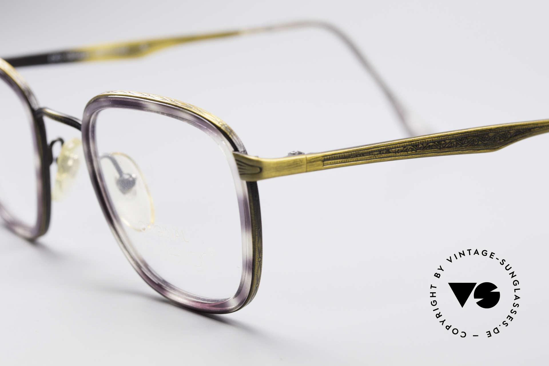 ProDesign Denmark Club 88A Vintage Brille, tolle Farbkombination (violett havanna / messing), Passend für Herren