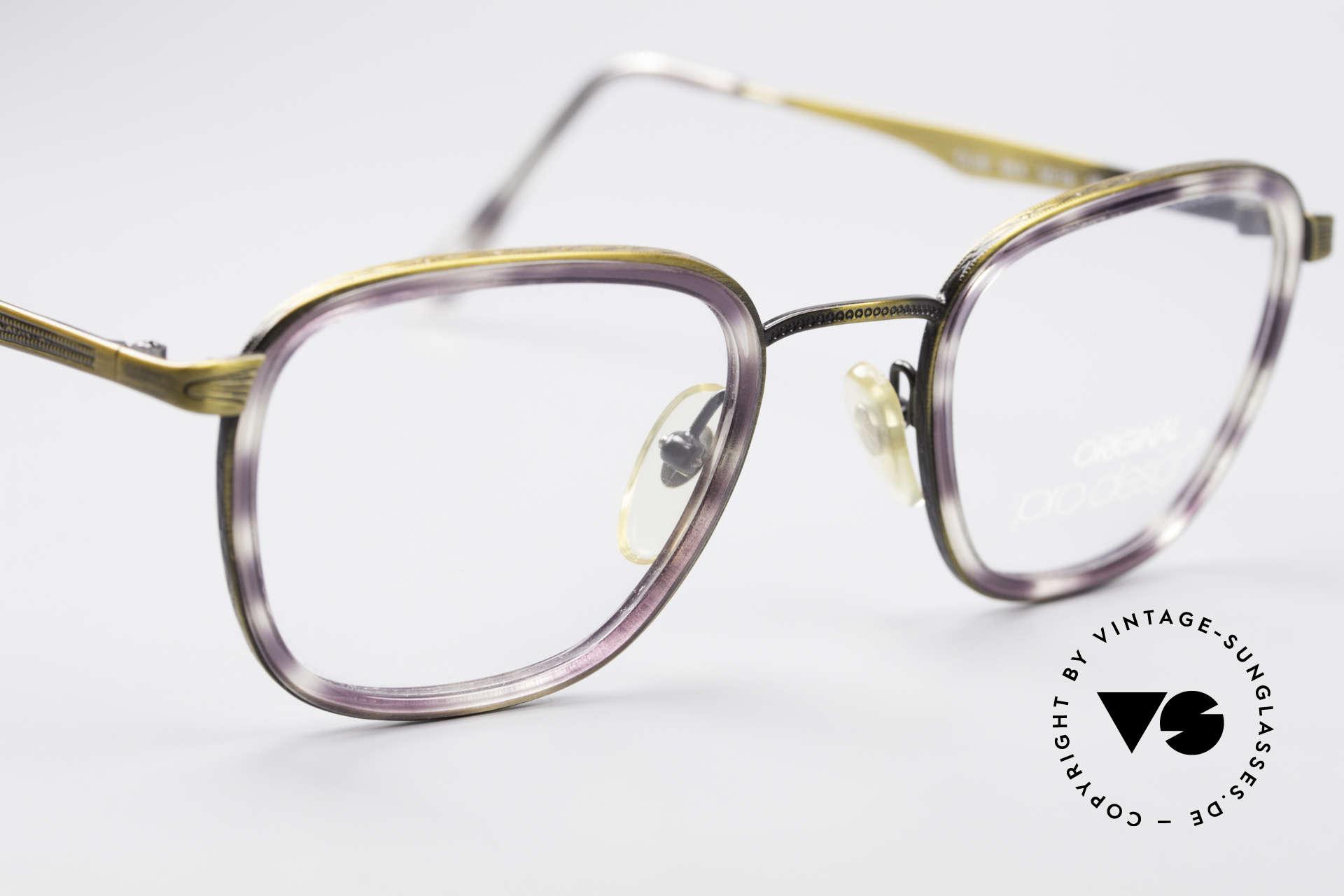 ProDesign Denmark Club 88A Vintage Brille, ungetragen (wie alle unsere vintage Pantobrillen), Passend für Herren