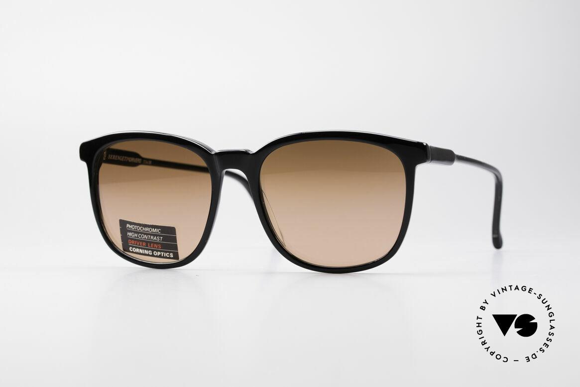 Serengeti Drivers 5343 Autofahrer Brille, vintage Serengeti 'high contrast' Drivers Sonnenbrille, Passend für Herren und Damen