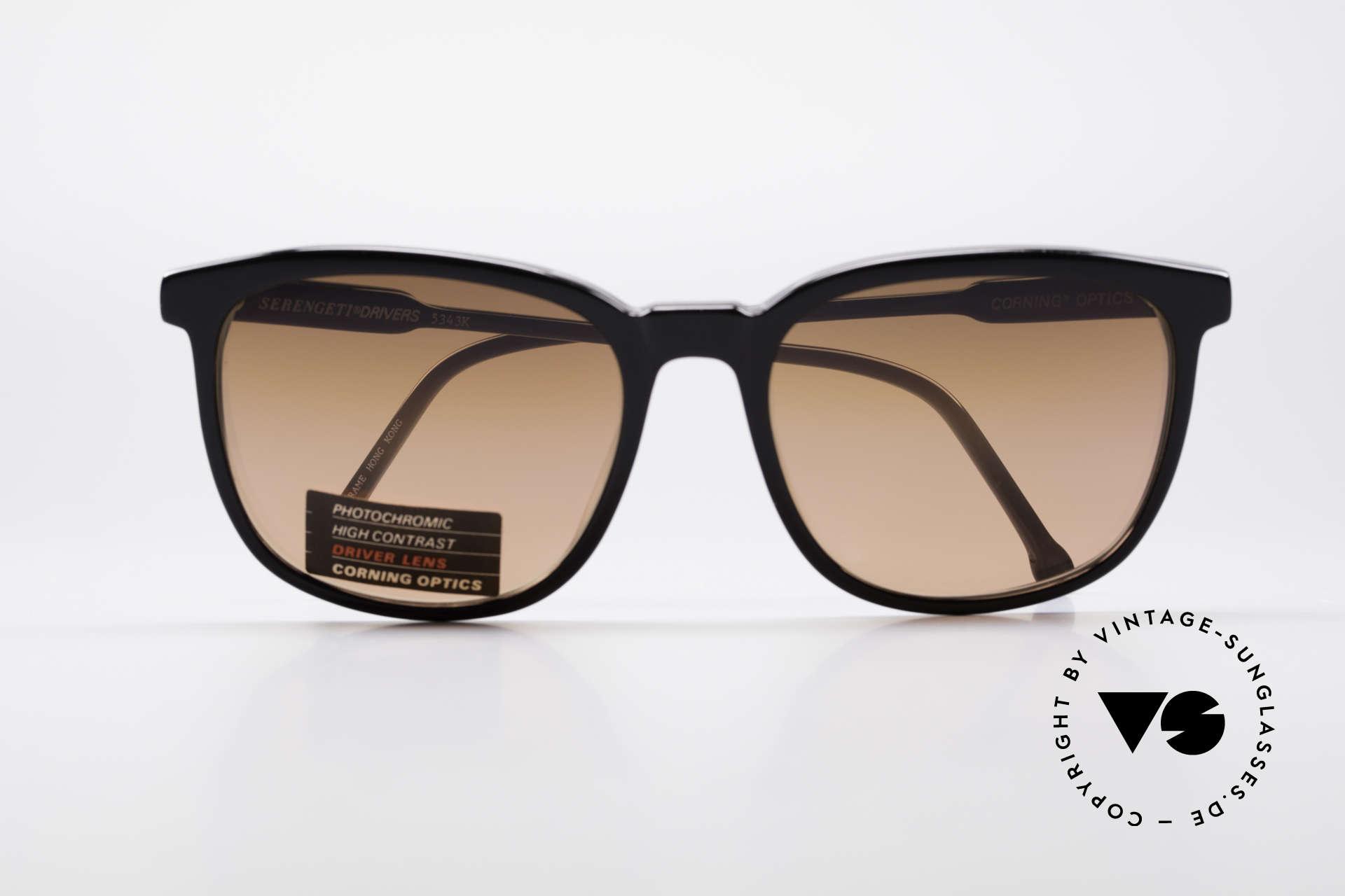 Serengeti Drivers 5343 Autofahrer Brille, ungetragen (wie alle unsere SERENGETI Sonnenbrillen), Passend für Herren und Damen