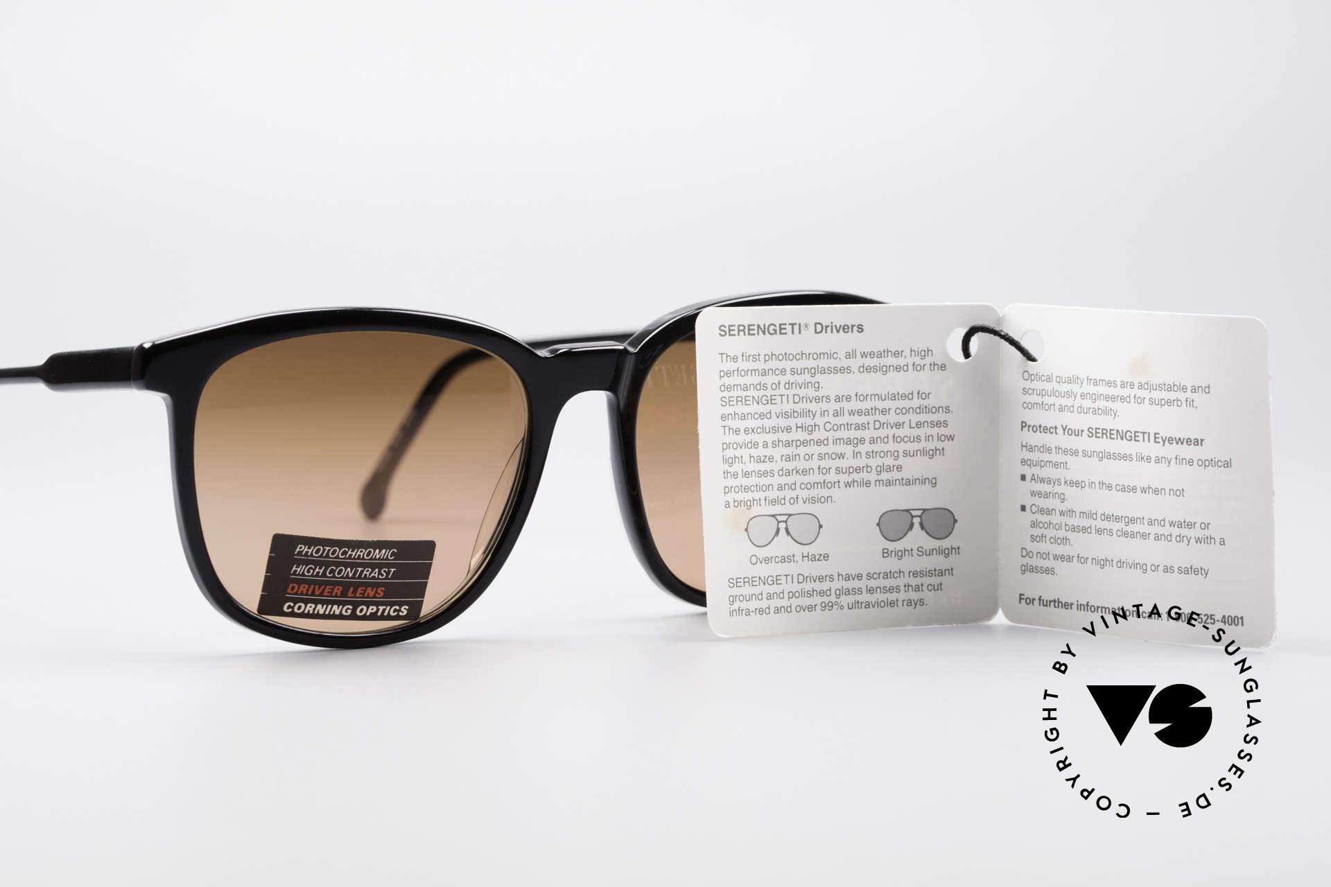 Serengeti Drivers 5343 Autofahrer Brille, KEINE Retrobrille, sondern ein 30 Jahre altes Original, Passend für Herren und Damen