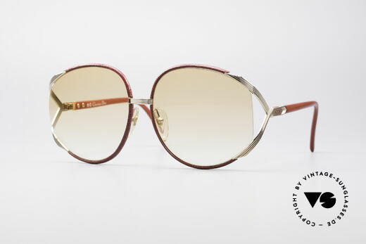 Christian Dior 2250 Rihanna Leder Sonnenbrille Details