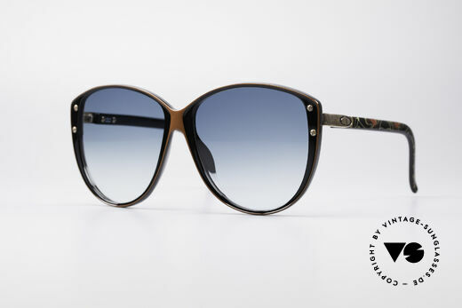 Christian Dior 2277 XL 70er Damen Sonnenbrille Details