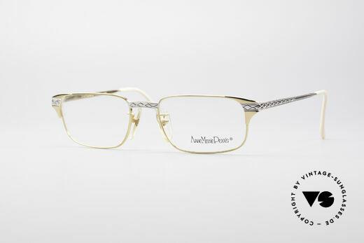 Anne Marie Perris M5 Luxus Brillenfassung Details