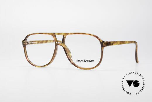 Terri Brogan 8673 Optyl Vintage Brille Details