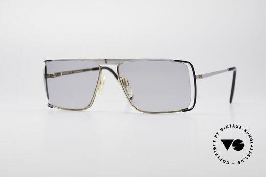 Neostyle Boutique 640 Eckige Vintage Brille Details