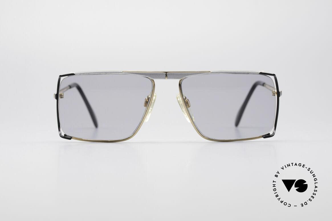 Neostyle Boutique 640 Eckige Vintage Brille, großartige Verarbeitung & Passform (made in Germany), Passend für Herren und Damen