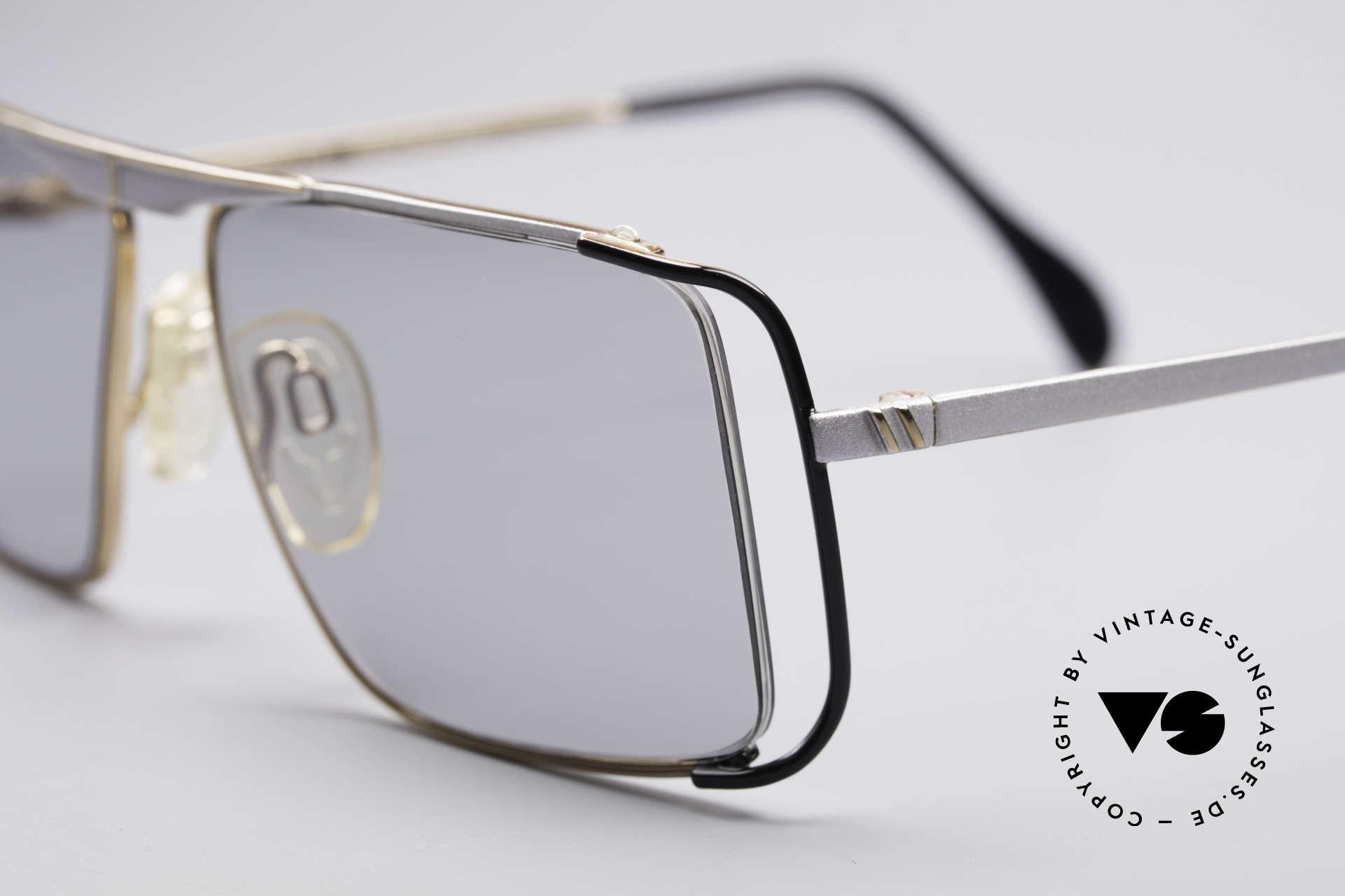Neostyle Boutique 640 Eckige Vintage Brille, getragen von Promis wie Patrick Swayze in den 1980ern, Passend für Herren und Damen