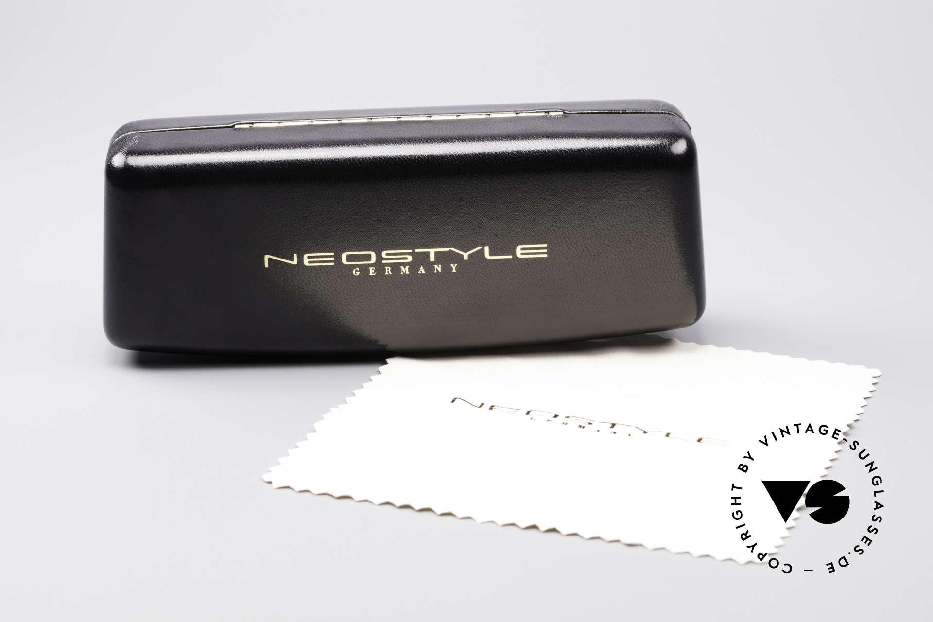 Neostyle Boutique 640 Eckige Vintage Brille, Größe: medium, Passend für Herren und Damen