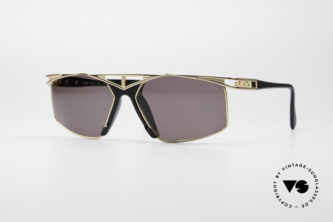 Cazal 962 Sportliche Designer Brille, sportlich schicke Cazal Designersonnenbrille der 90er, Passend für Herren und Damen