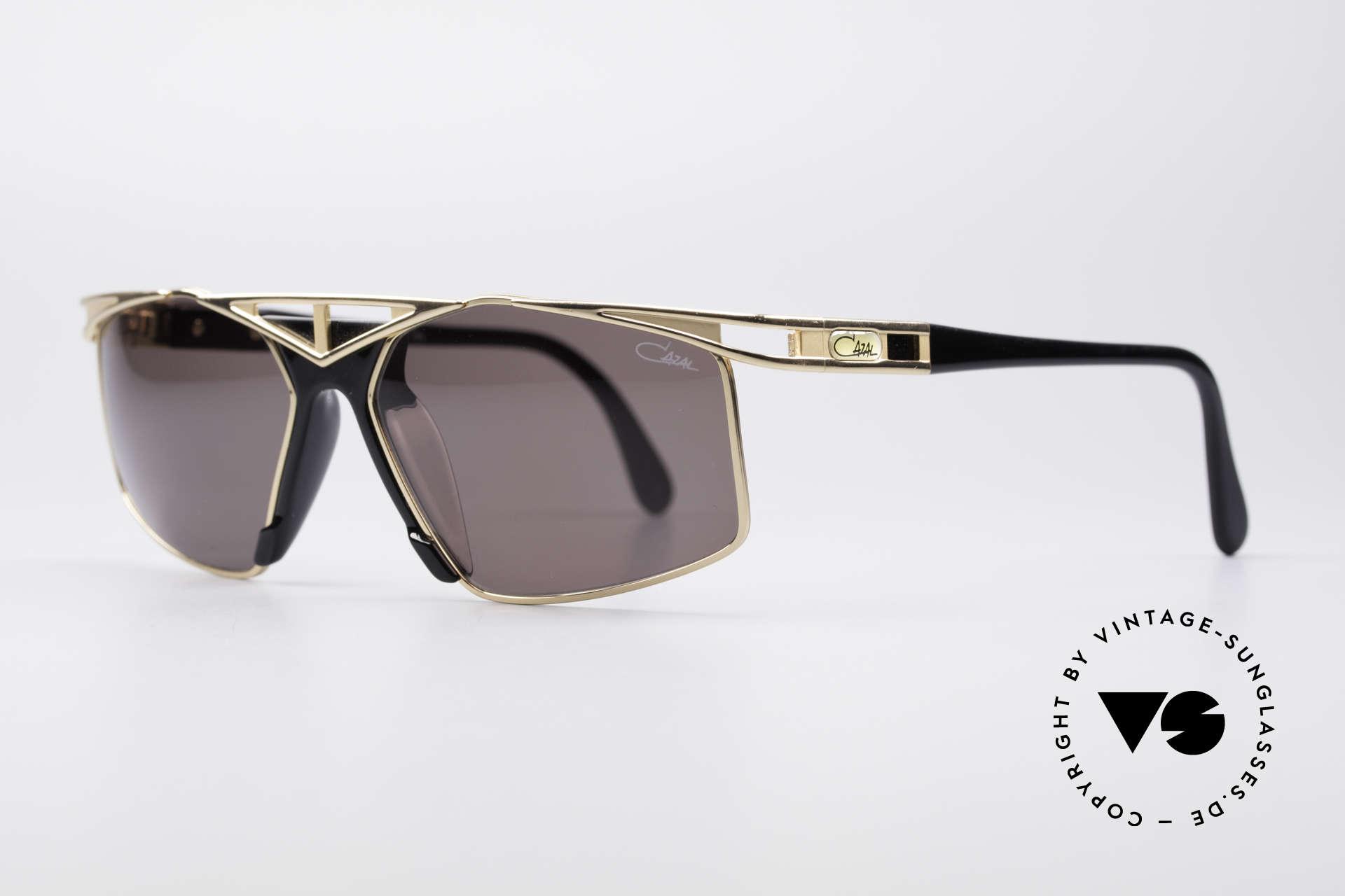 Cazal 962 Sportliche Designer Brille, tolle Kombination v. Farbkonzept, Design & Materialien, Passend für Herren und Damen