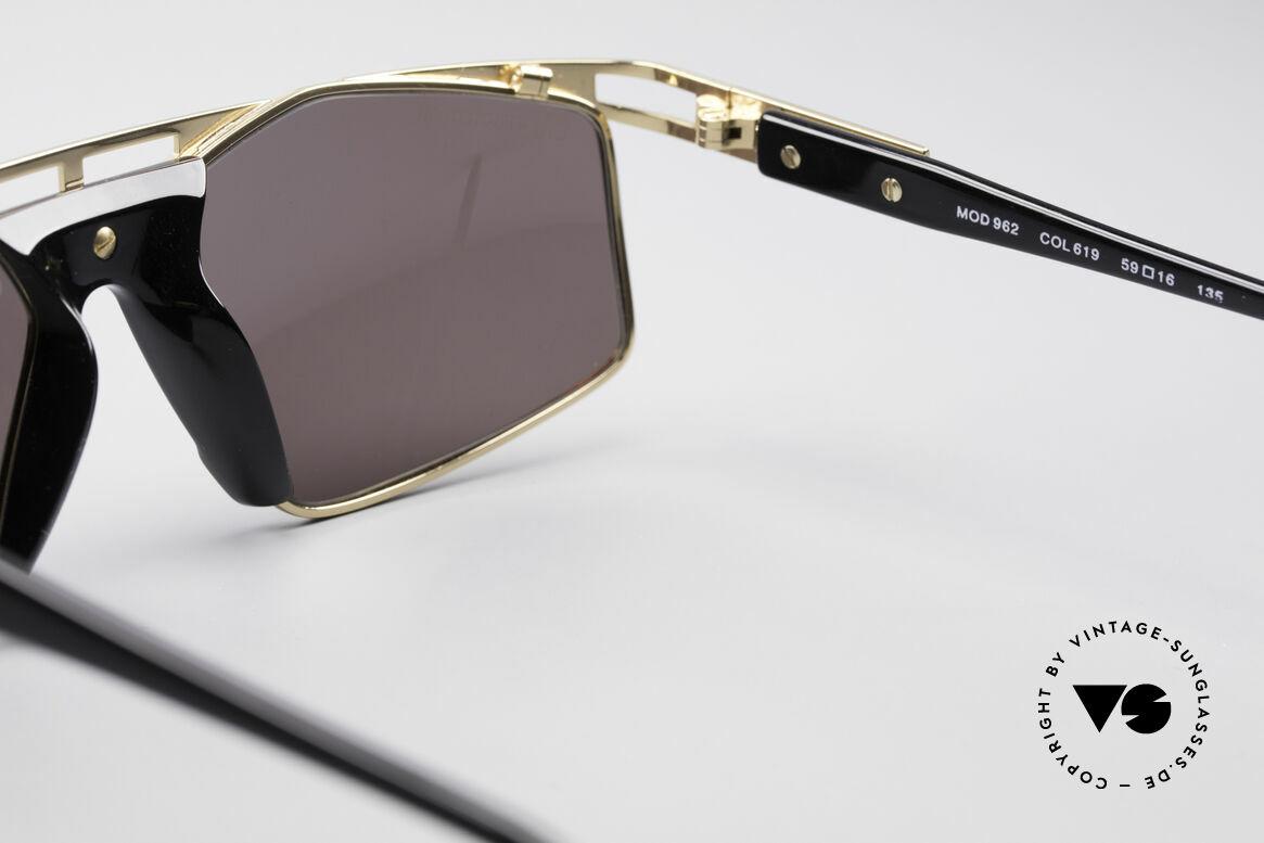 Cazal 962 Sportliche Designer Brille, KEINE Retro-Mode; sondern eine 25 Jahre alte Rarität!, Passend für Herren und Damen