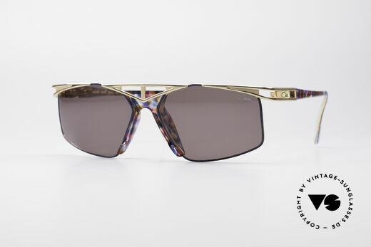 Cazal 962 90er Vintage Sonnenbrille Details