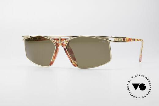 Cazal 962 Sportliche Vintage Brille Details