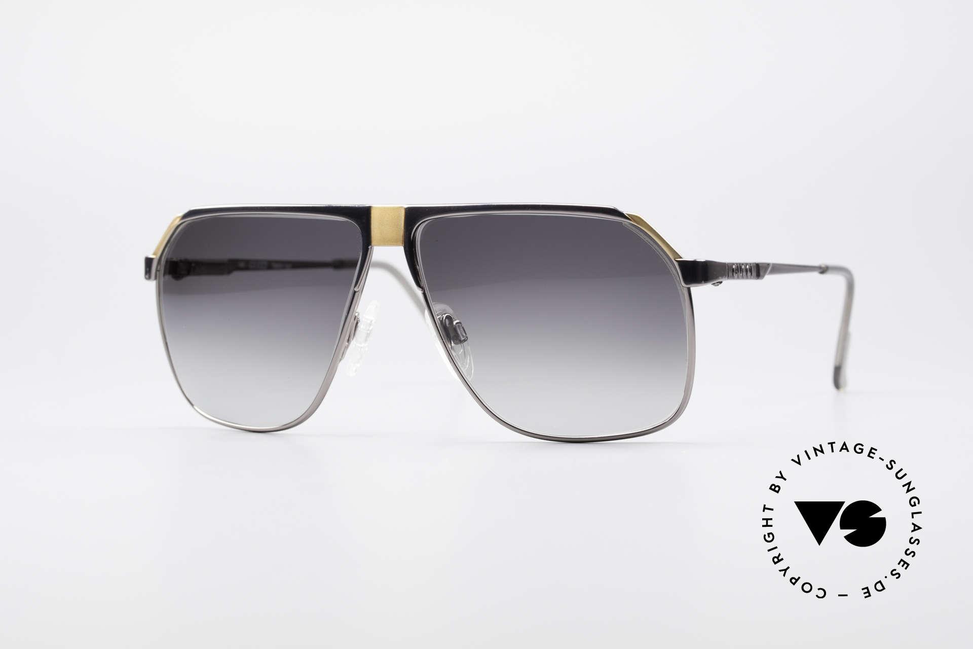 Gucci 1200 80er Luxus Sonnenbrille, mondäne vintage Designer-Sonnenbrille von Gucci, Passend für Herren