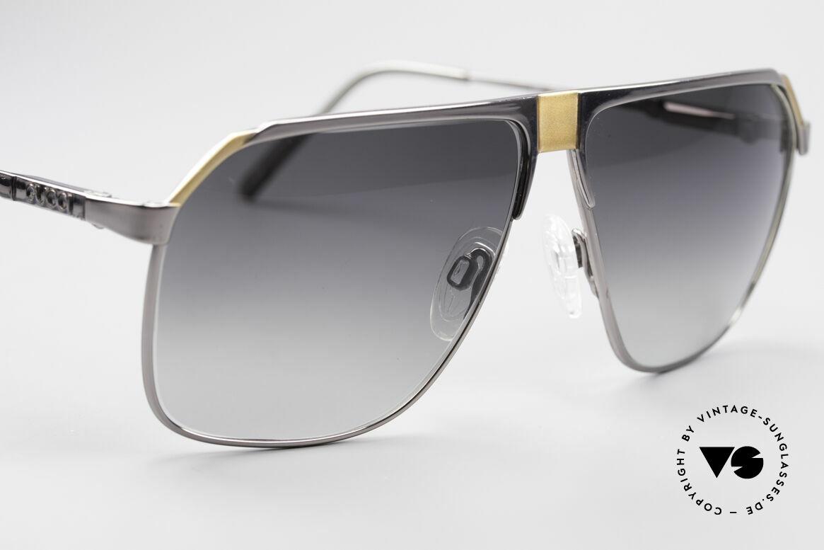 Gucci 1200 80er Luxus Sonnenbrille, KEINE Retrobrille, sondern 100% vintage Original, Passend für Herren